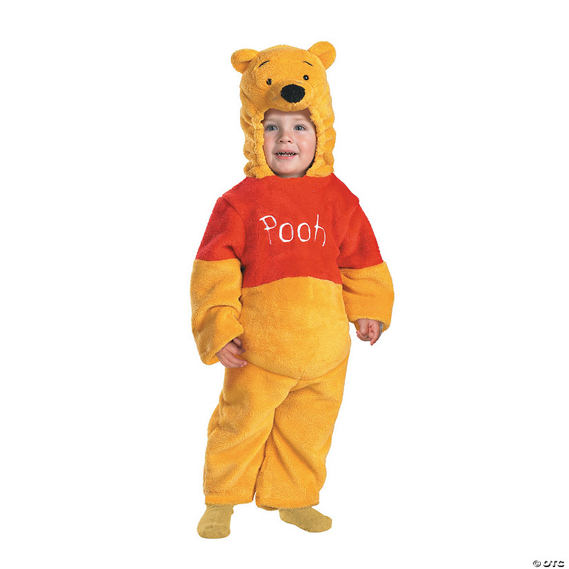 Baby/Toddler Deluxe Plush Winnie the Pooh™ Pooh Costume Audio Thumbnail