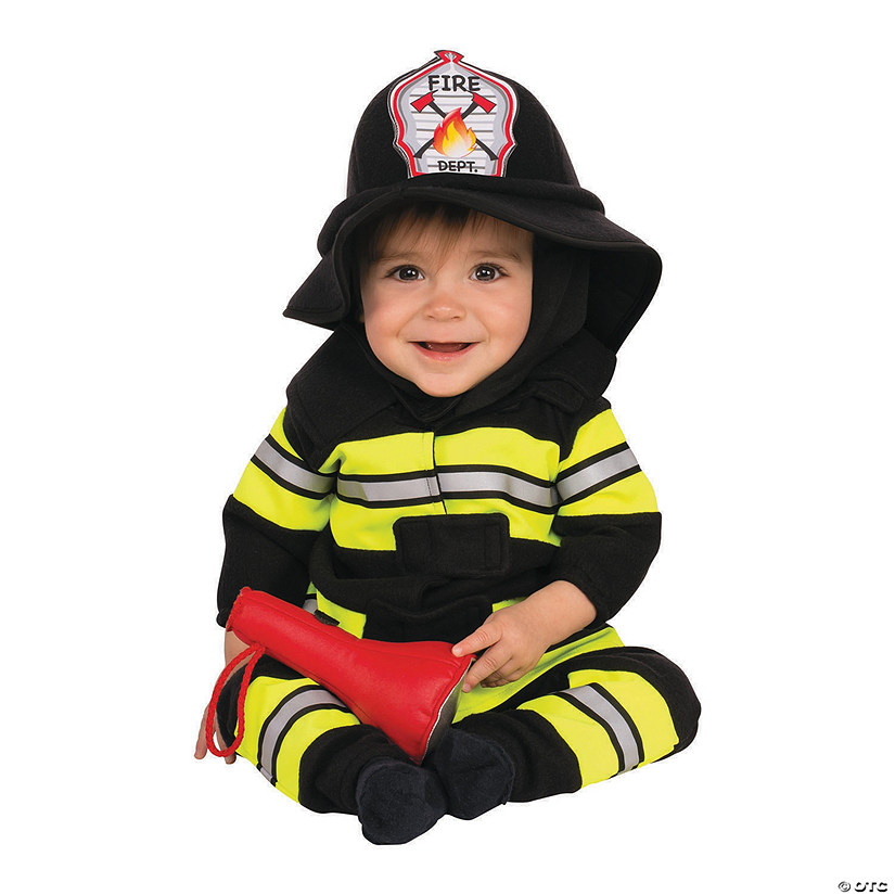 Baby/Toddler Firefighter Costume Audio Thumbnail