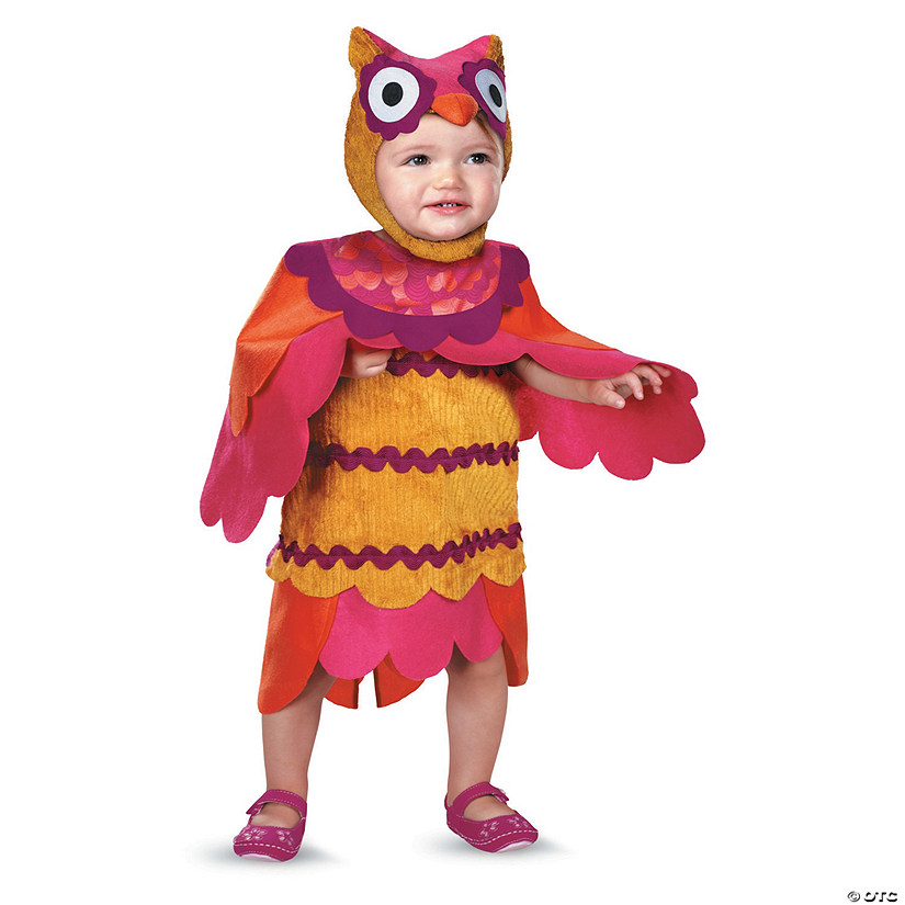 Baby/Toddler Girl's Cute Hoot Owl Costume Audio Thumbnail