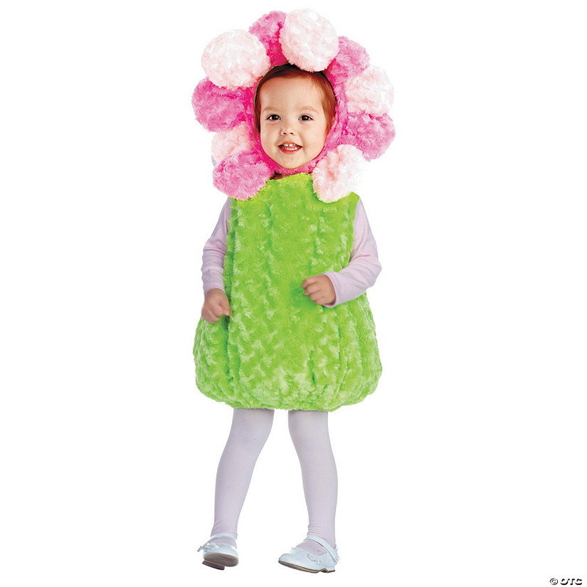 Baby/Toddler Girl's Pink Flower Costume Audio Thumbnail