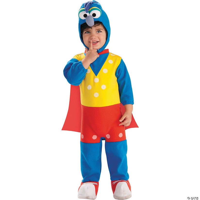 Baby/Toddler Gonzo Ez-On Romper Costume Audio Thumbnail