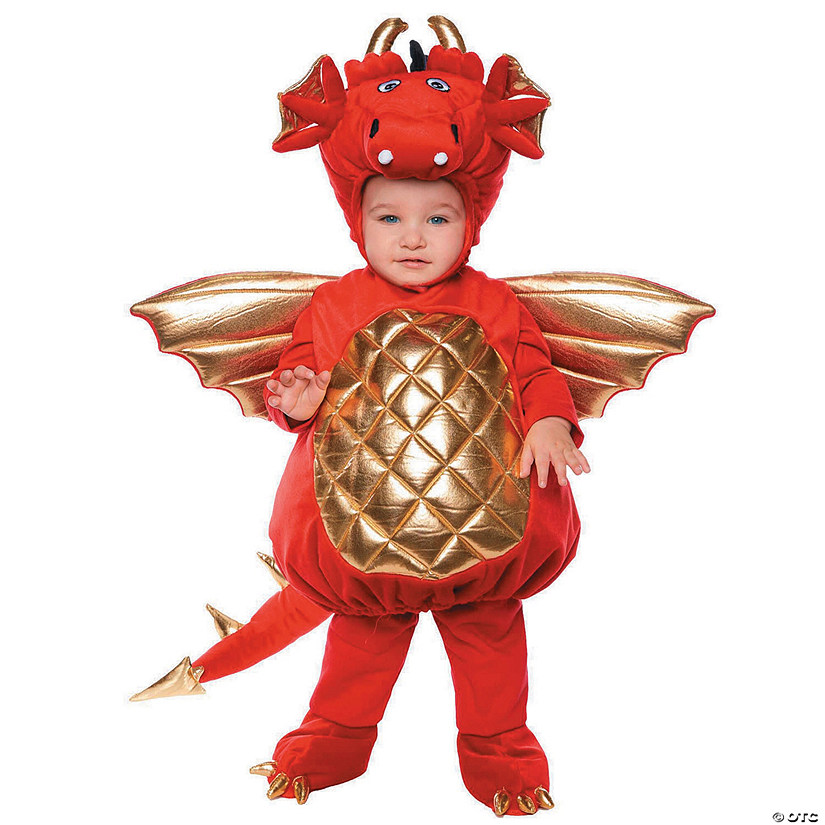 Baby/Toddler Red Dragon Costume Audio Thumbnail
