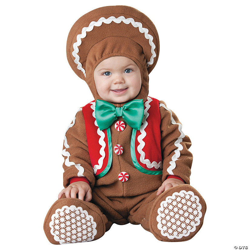 Baby/Toddler Sweet Gingerbaby Costume Audio Thumbnail