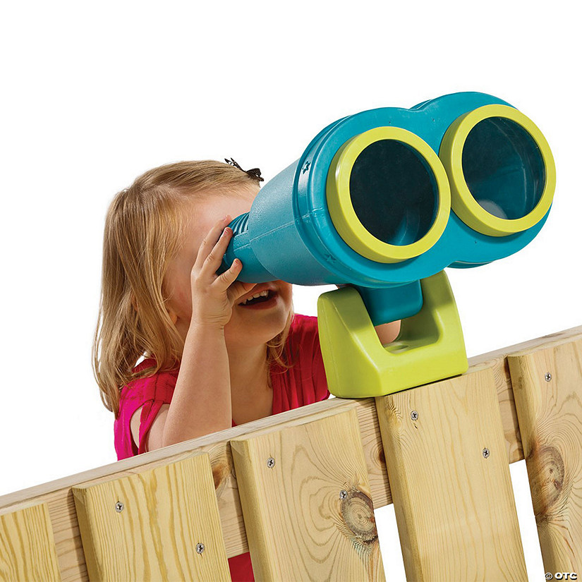 Backyard Accessories: Teal Binoculars Image Thumbnail