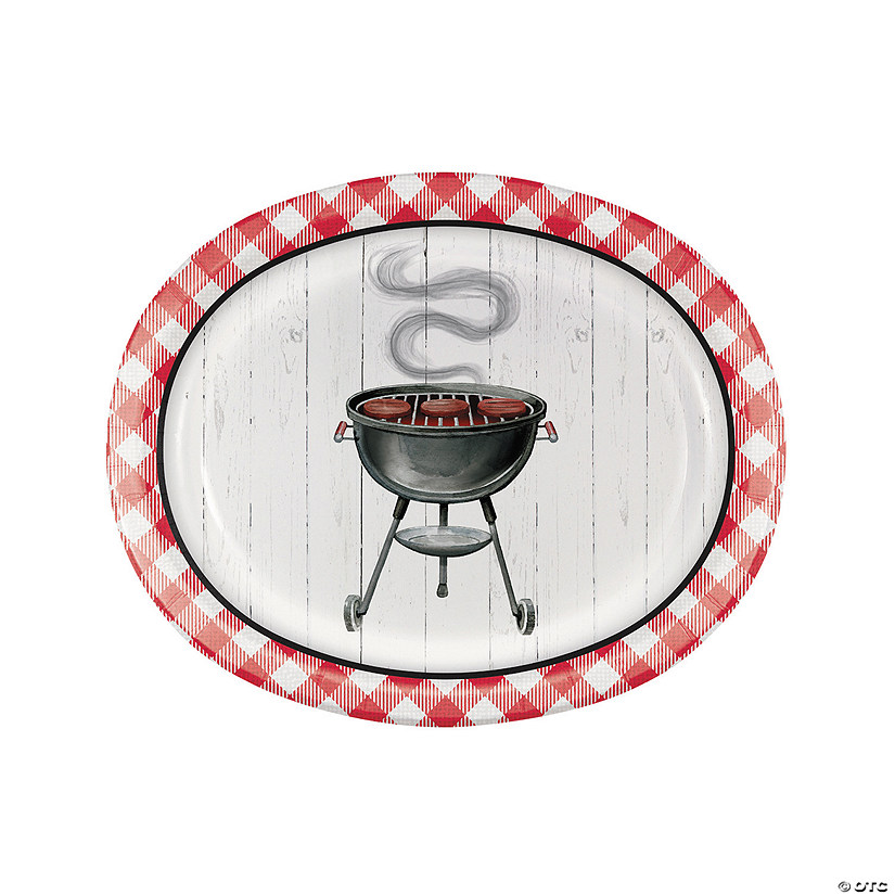 Backyard BBQ Paper Oval Platters Audio Thumbnail