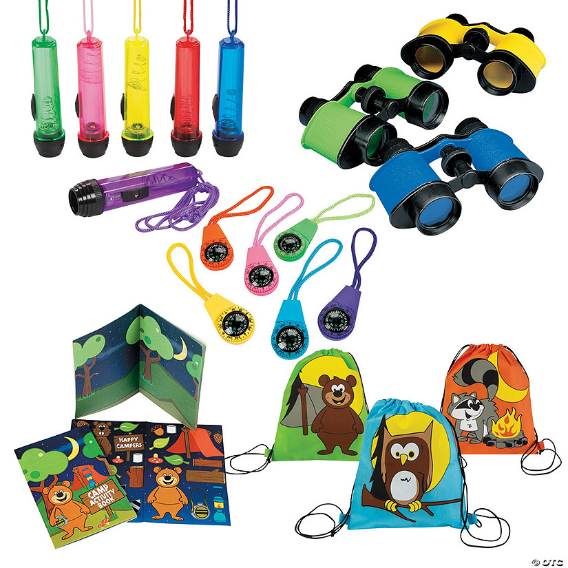 Backyard Camping Boredom Buster Kit