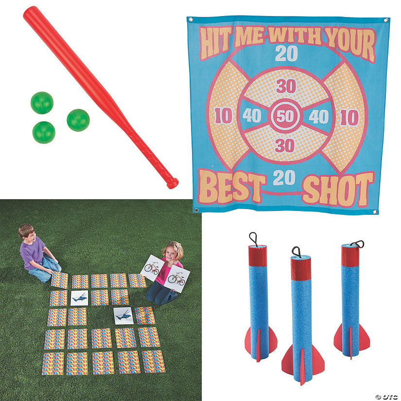 Backyard Games Boredom Buster Kit
