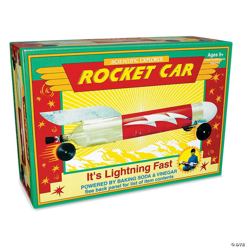 Baking Soda & Vinegar Rocket Car