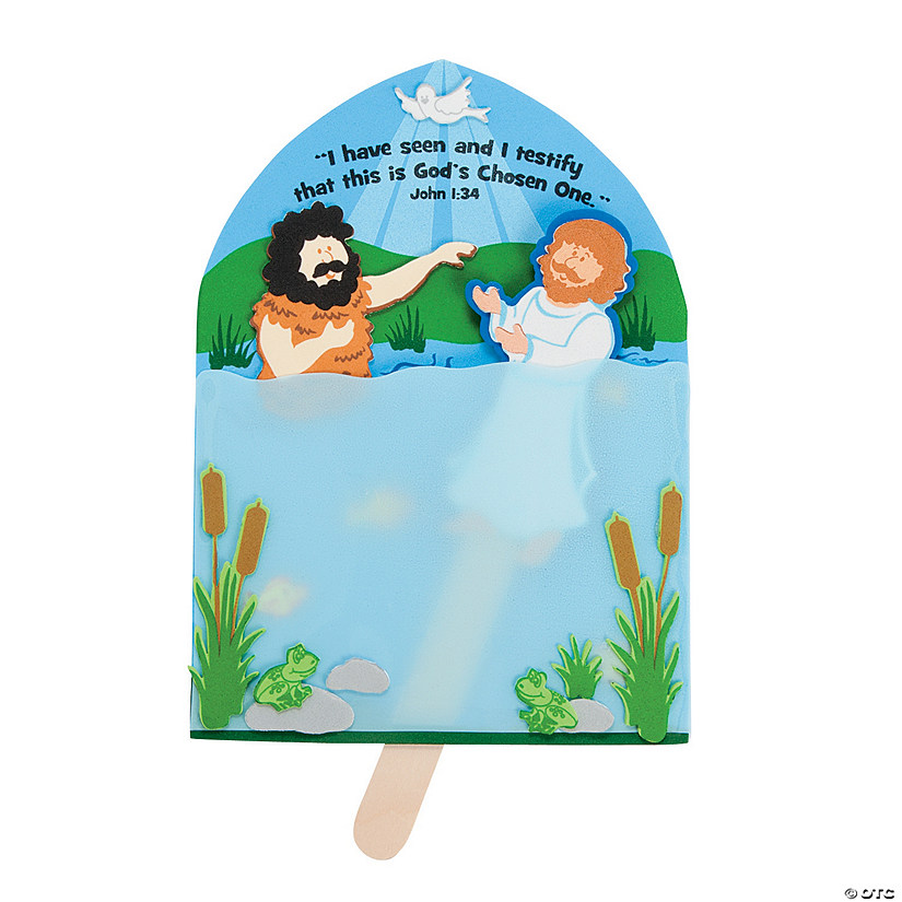Baptism of Jesus Craft Kit Audio Thumbnail