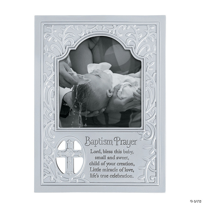 Baptism Prayer Picture Frame Audio Thumbnail