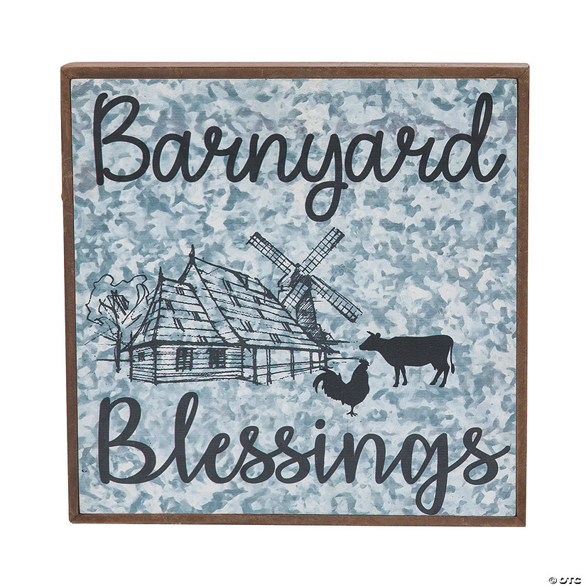 Barnyard Blessings Wall Sign Audio Thumbnail