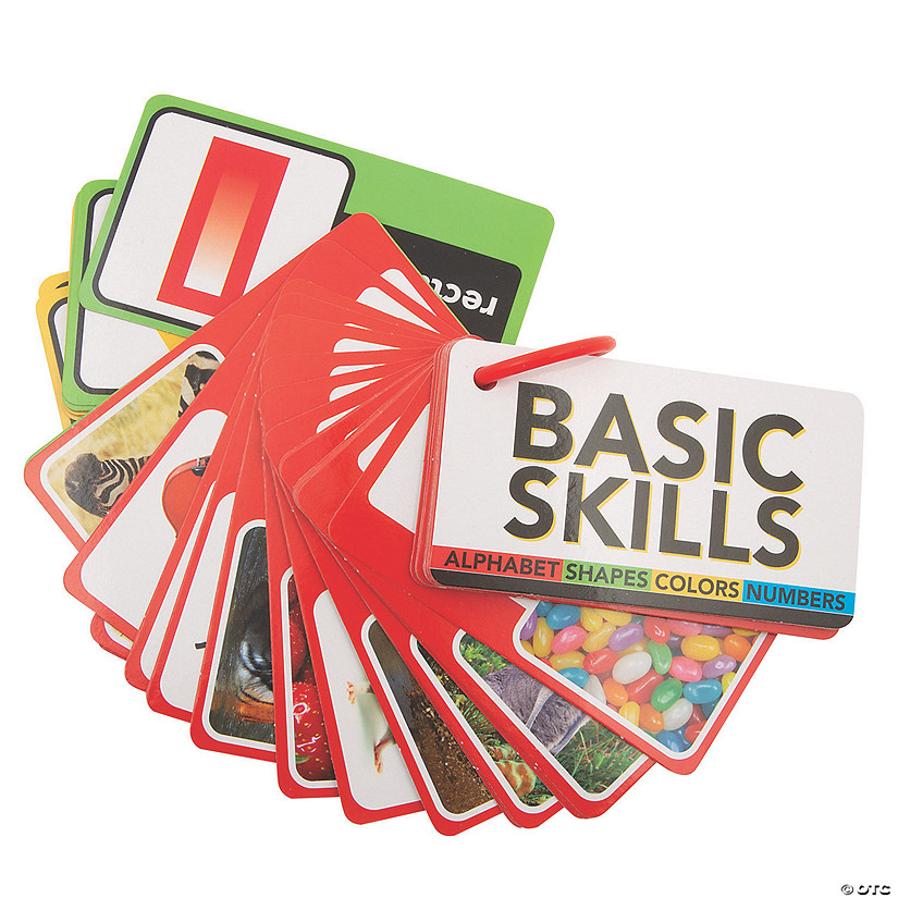 Basic Skills Cards on a Ring Image Thumbnail
