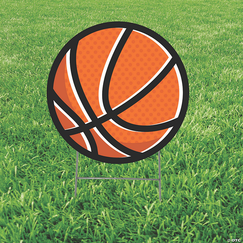 Basketball Yard Sign Image Thumbnail