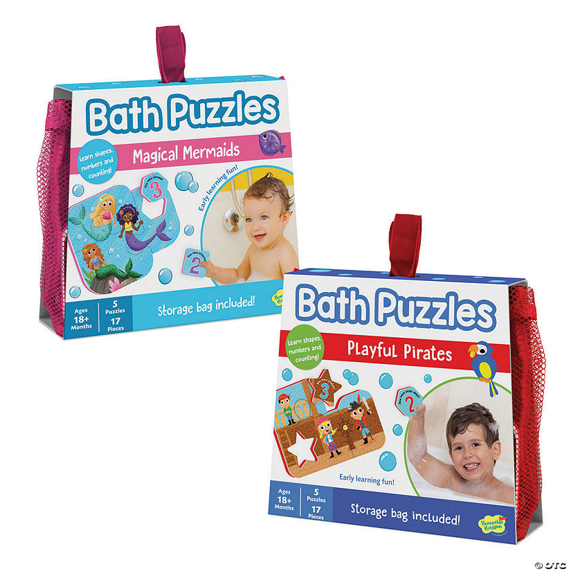 Bath Puzzles: Set of 2 Image Thumbnail