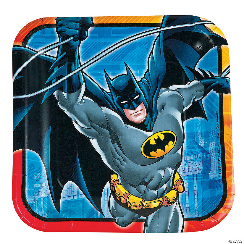 Batman™ Paper Dinner Plates - 8 Ct. Audio Thumbnail