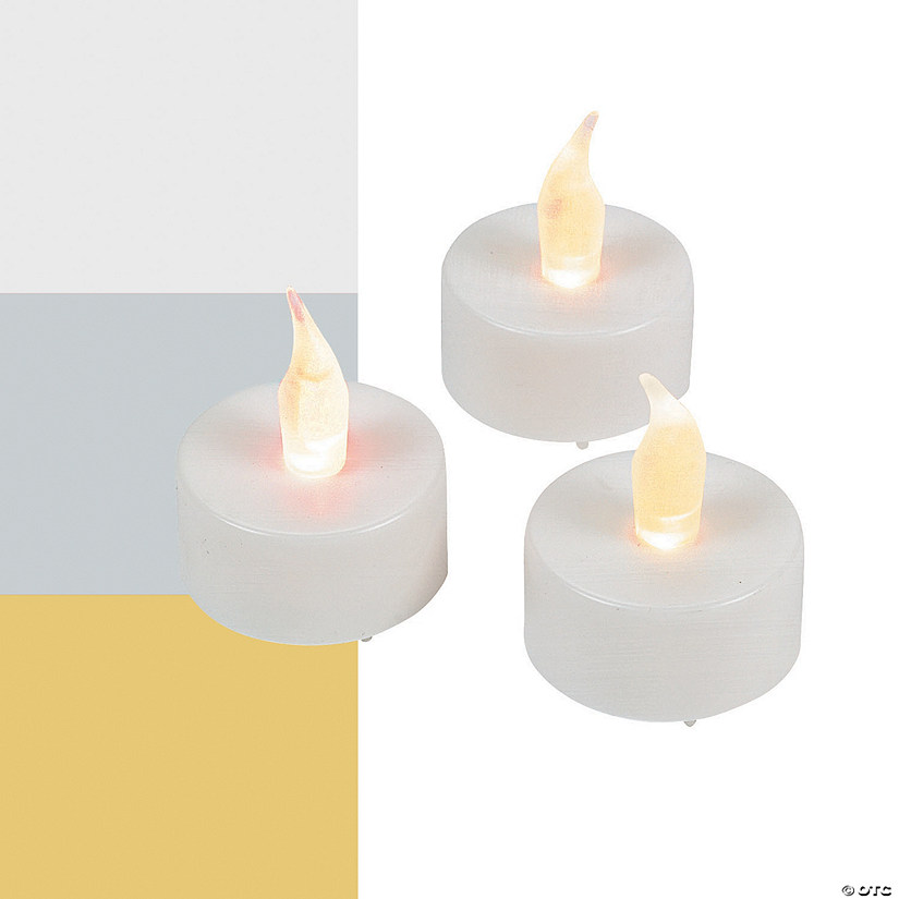 Battery-Operated Tea Light Candles Image Thumbnail