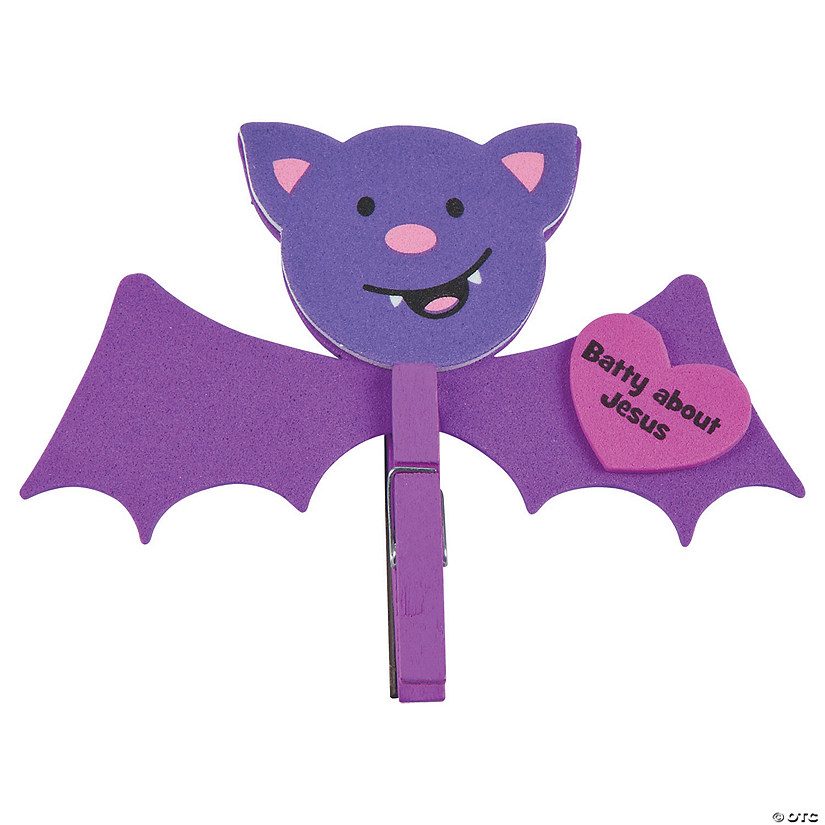Batty for Jesus Clothespin Magnet Craft Kit Audio Thumbnail