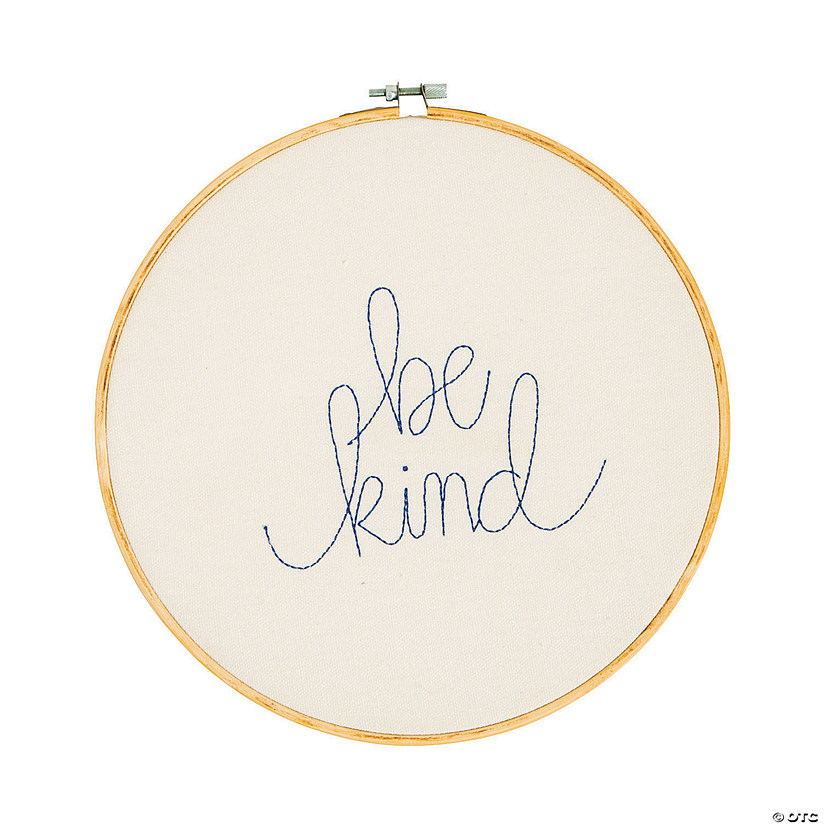 Be Kind Embroidery Hoop Audio Thumbnail