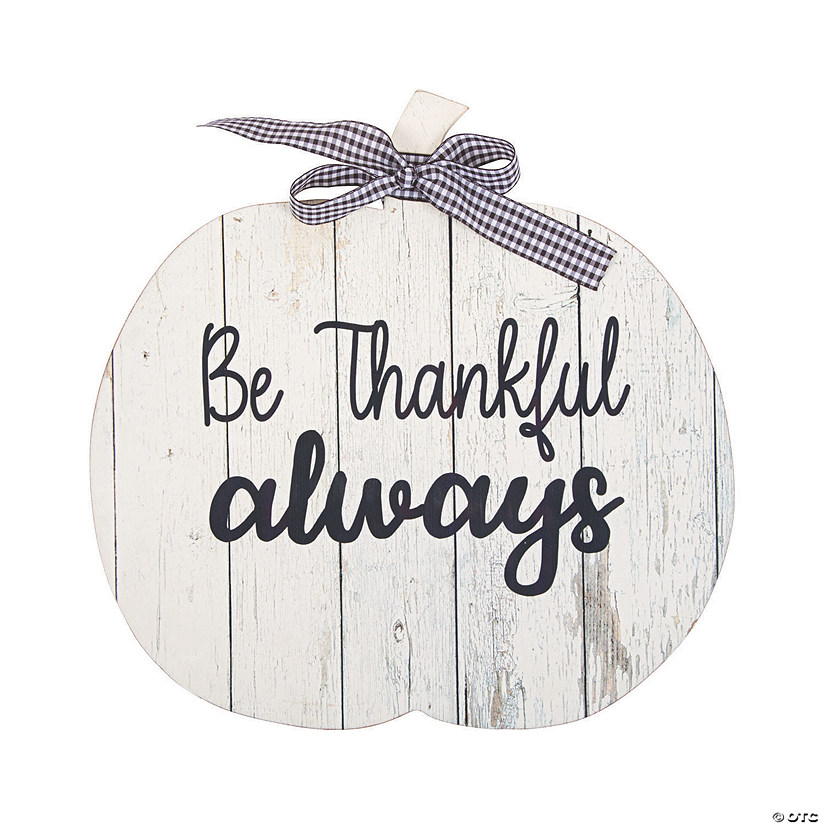 Be Thankful Always Pumpkin Sign Audio Thumbnail