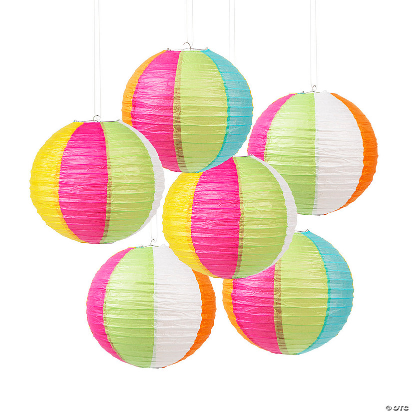 Beach Ball Hanging Paper Lanterns Audio Thumbnail