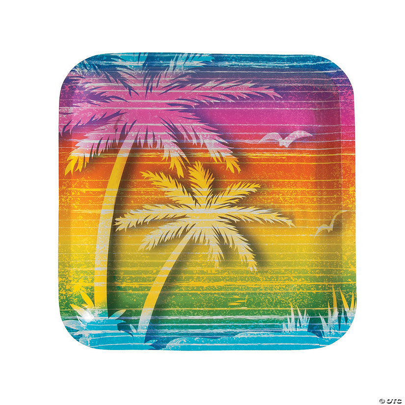 Beach Bum Paper Dinner Plates - 8 Ct. Audio Thumbnail