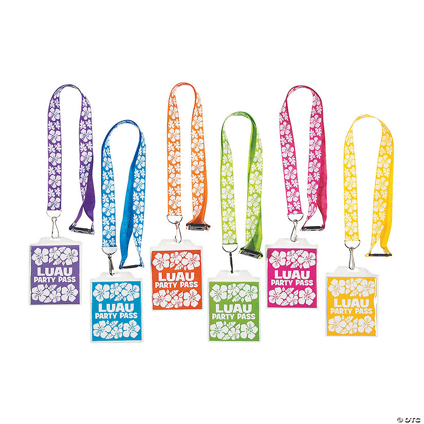 Beach Party Breakaway Lanyards Image Thumbnail