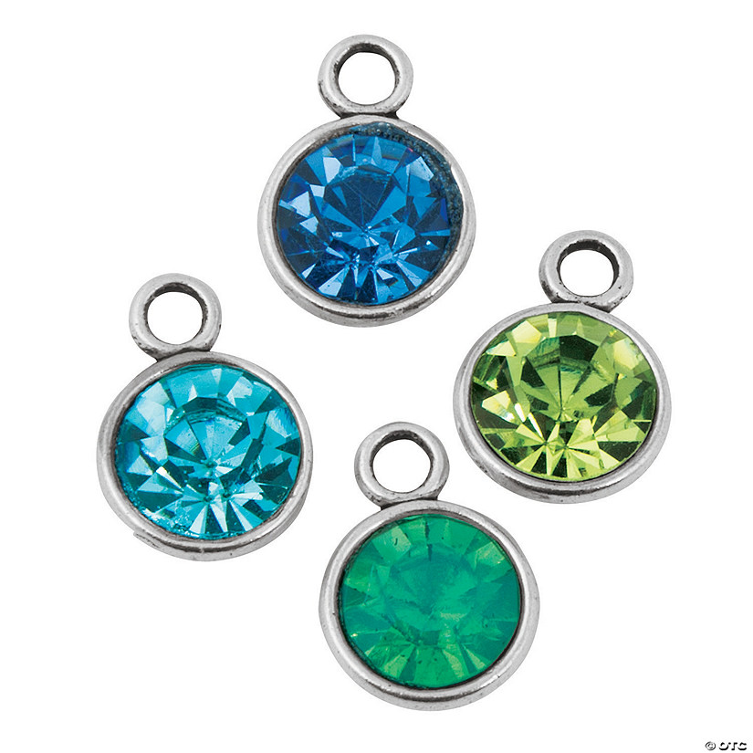 Beach Rhinestone Charms