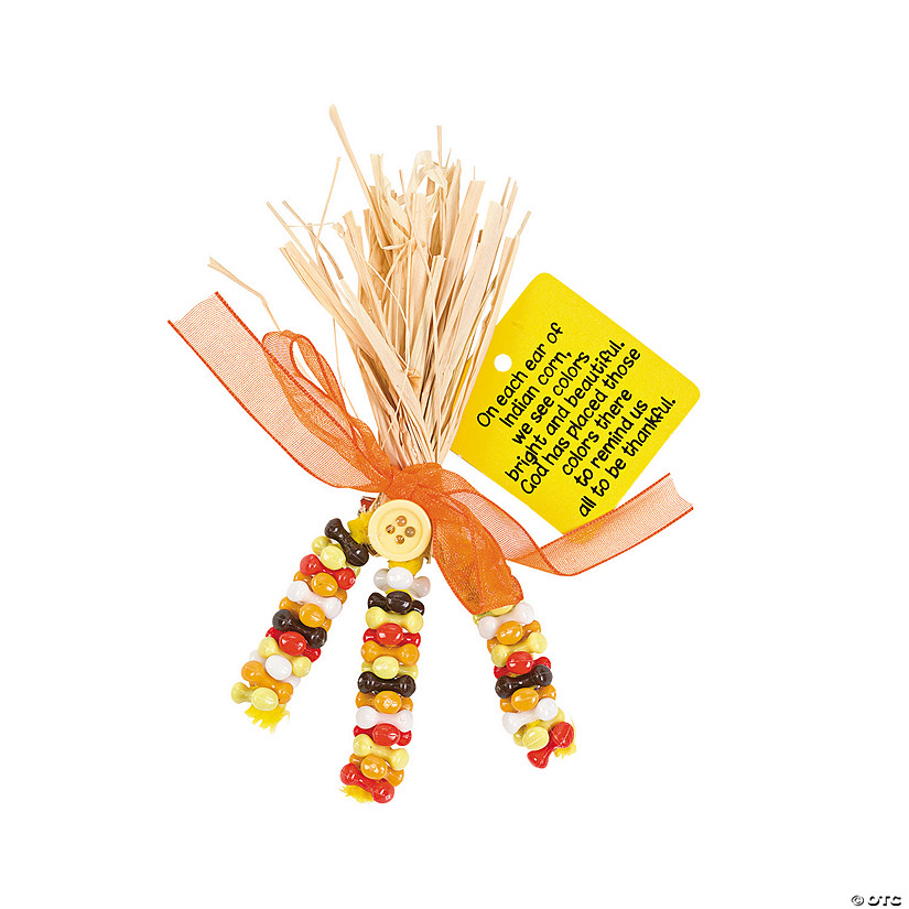 Beaded Corn Pin Craft Kit