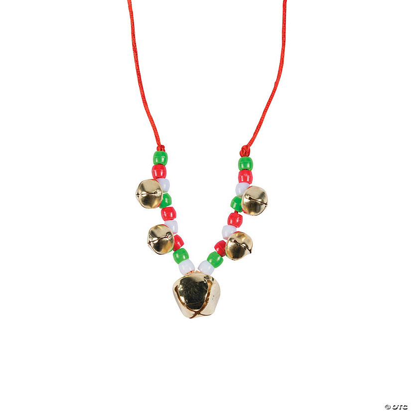 Beaded Jingle Bell Necklace Craft Kit - 12 Audio Thumbnail