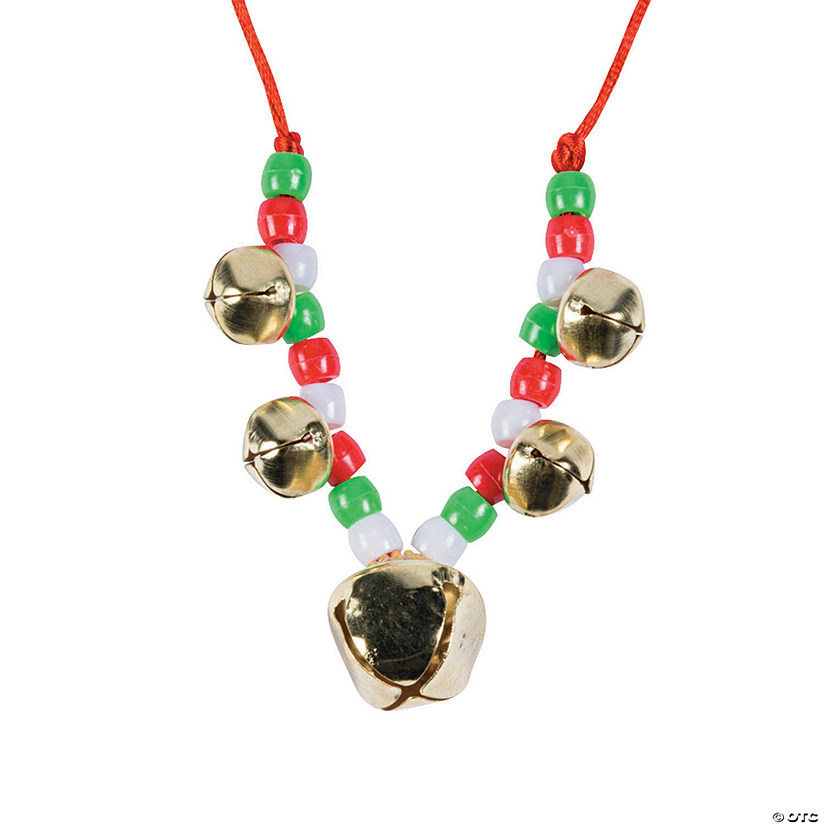 Beaded Jingle Bell Necklace Craft Kit - 48 Audio Thumbnail