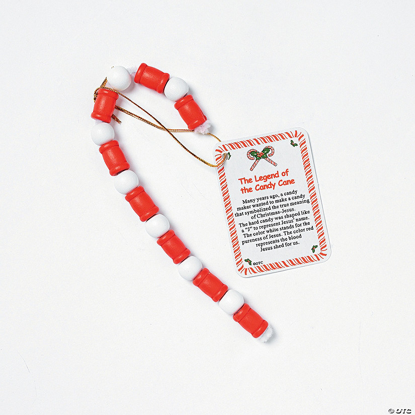 beaded legend of the candy cane - Hard Candy Christmas Meaning