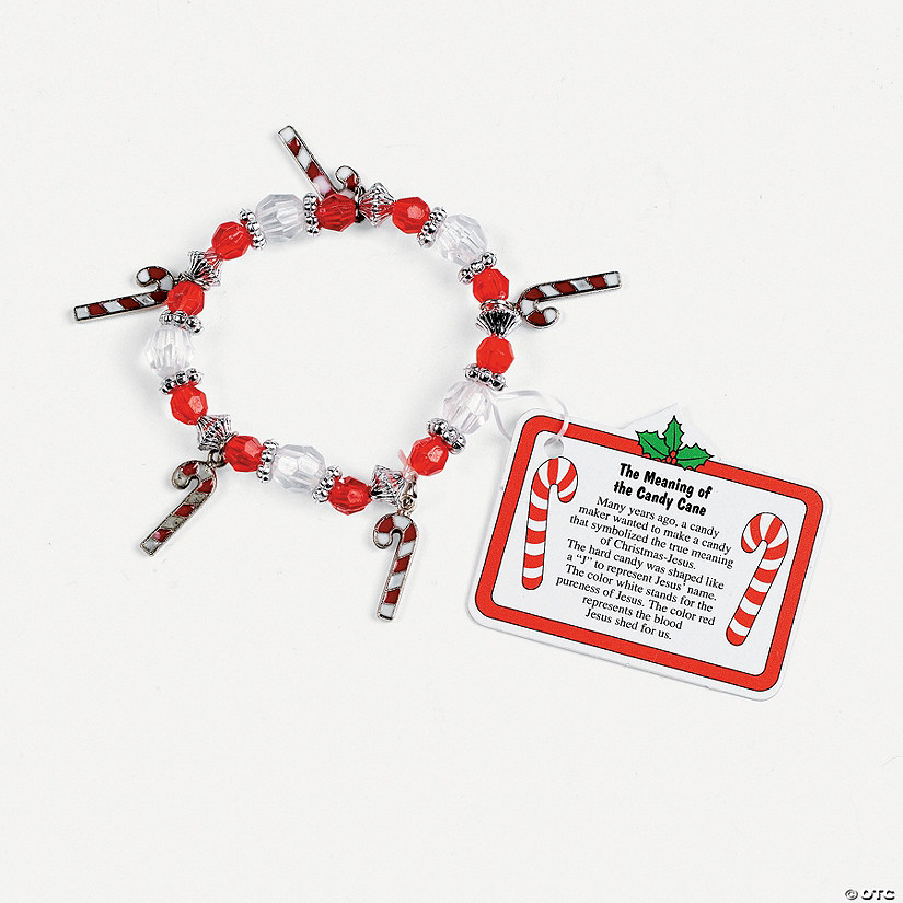 beaded the meaning of the candy cane charm bracelet - Hard Candy Christmas Meaning