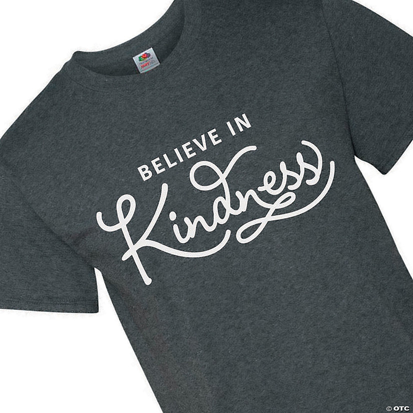 Believe in Kindness Adult's T-Shirt Audio Thumbnail