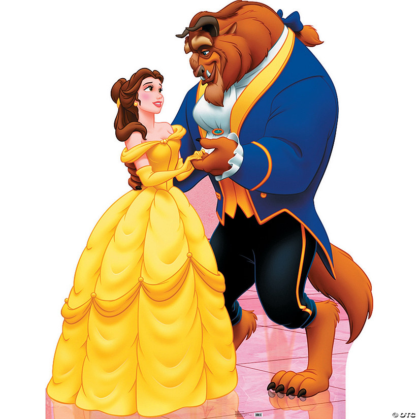 Belle And Beast Cardboard Stand-Up Audio Thumbnail