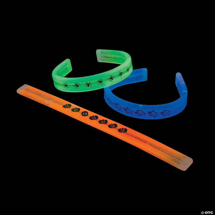 Bendable Halloween Print Glow Bracelets Audio Thumbnail