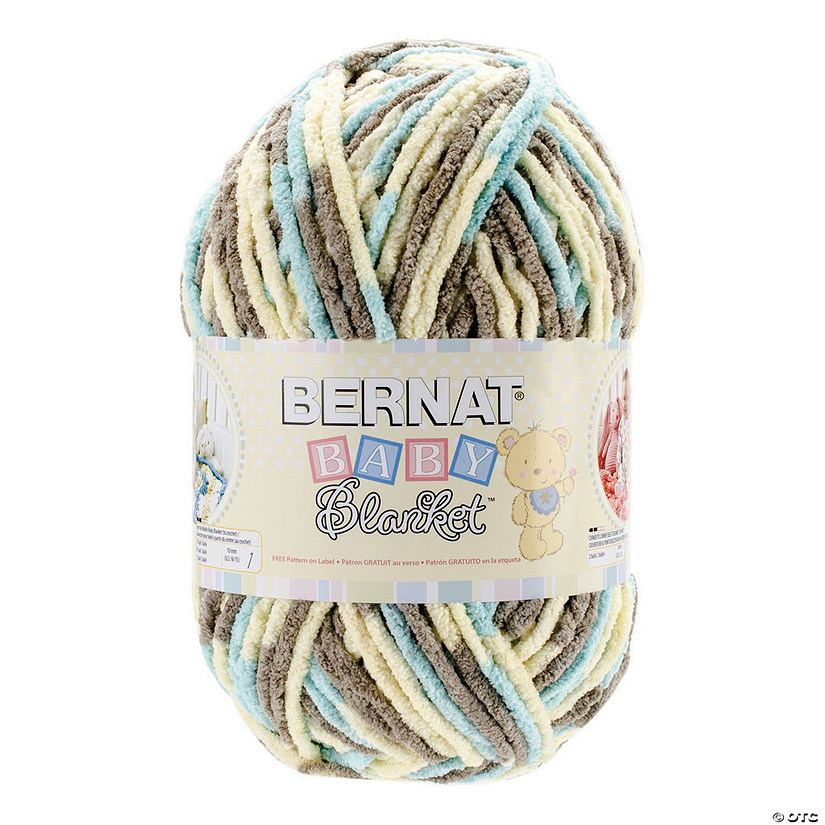 eea080fb0b8 Bernat Baby Blanket Big Ball Beach Babe 10.5oz