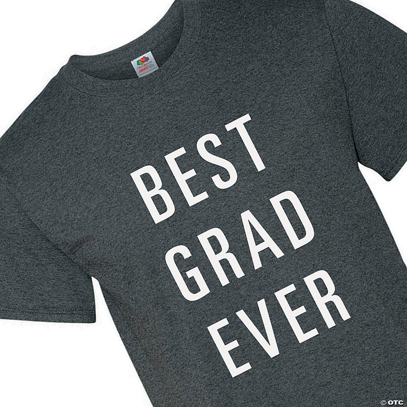 Best Grad Ever Adult's T-Shirt Image Thumbnail