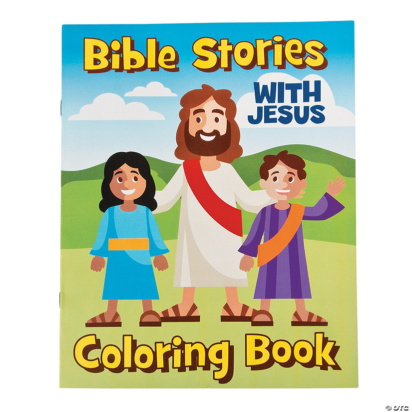 - Bible Stories Coloring Books Oriental Trading
