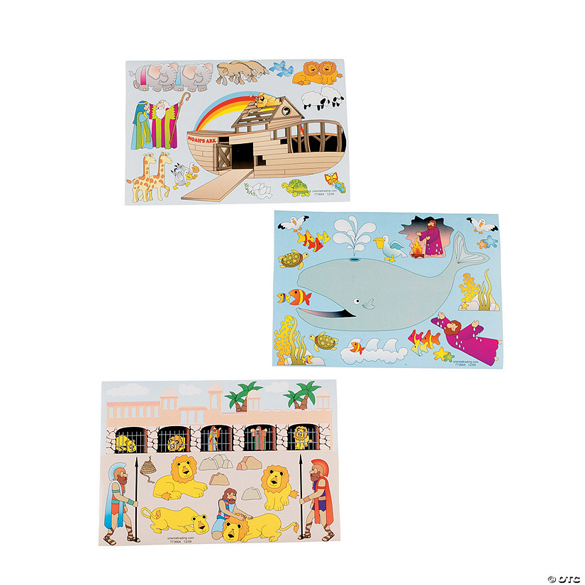 Bible Story Sticker Scenes Audio Thumbnail