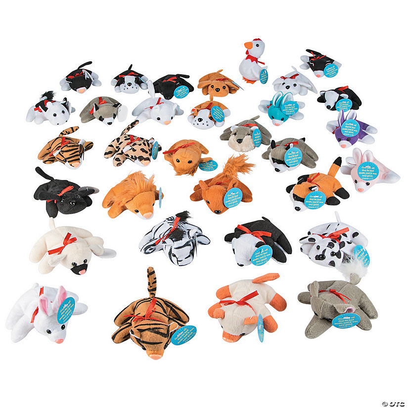 Bible Verse Mini Stuffed Animal Assortment Image Thumbnail