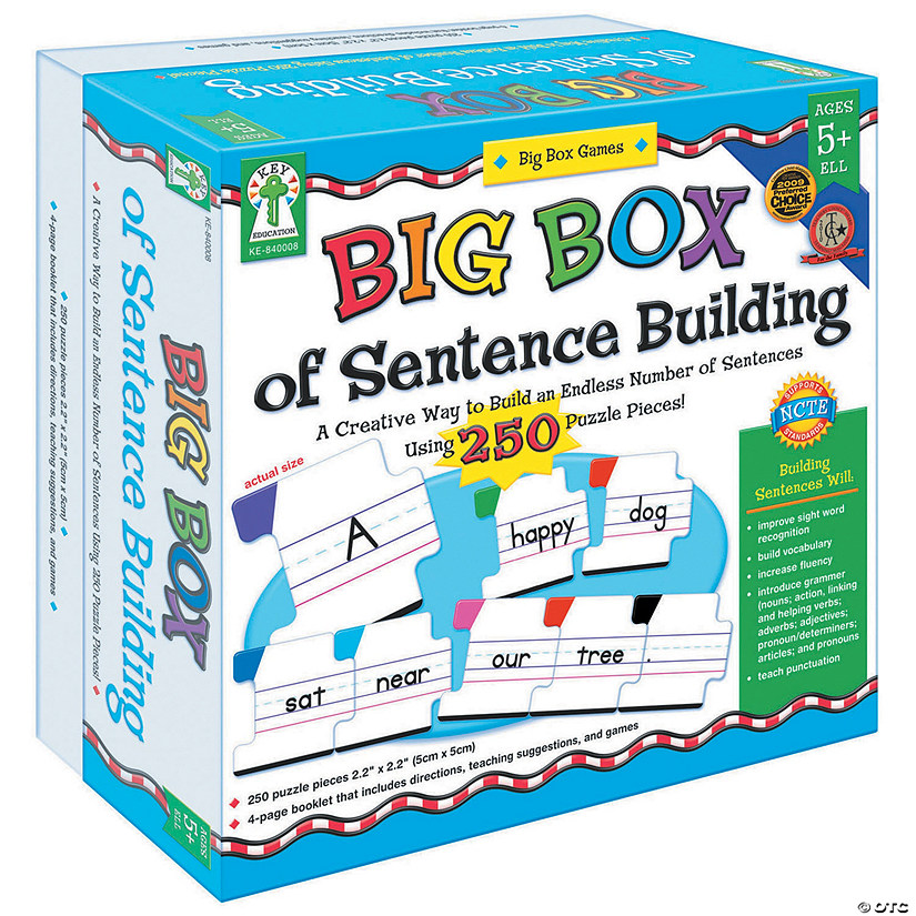 Big Box of Sentence Building Manipulative