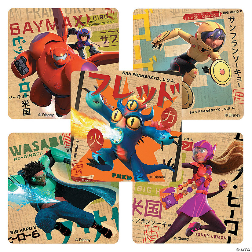 Big Hero 6 Stickers Audio Thumbnail