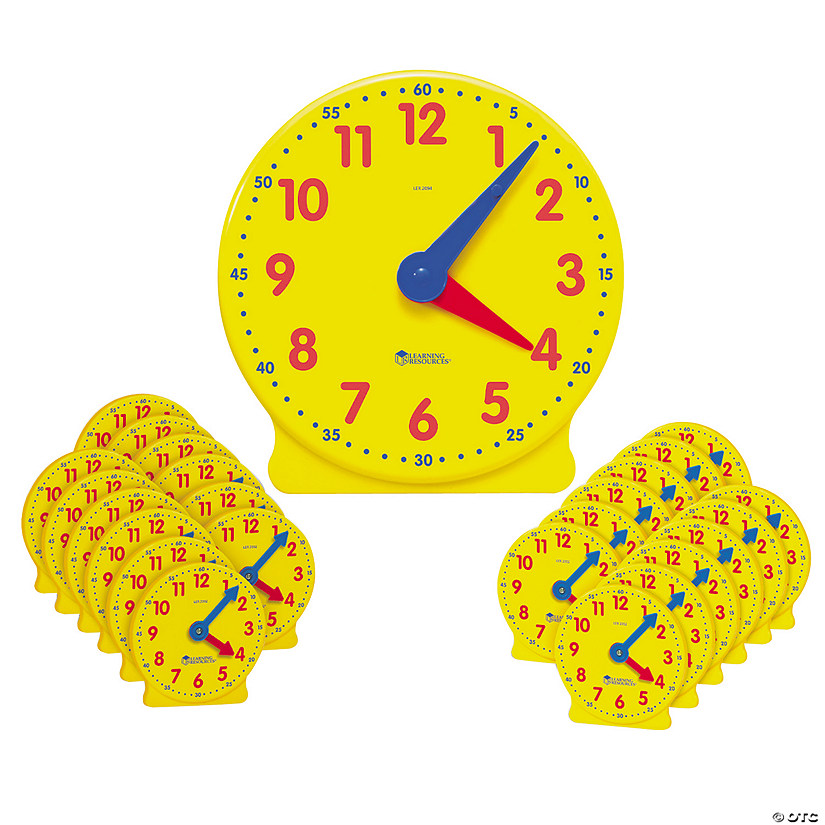 Big Time™ Classroom Clock Kit  Audio Thumbnail