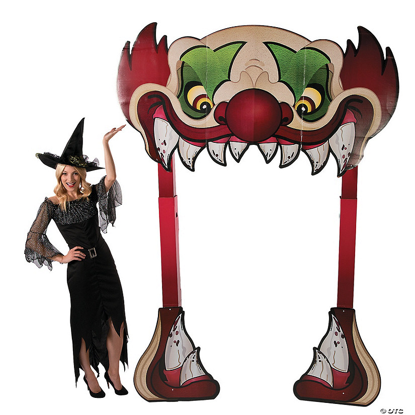 Big Top Terror Halloween Cardboard Stand-Up