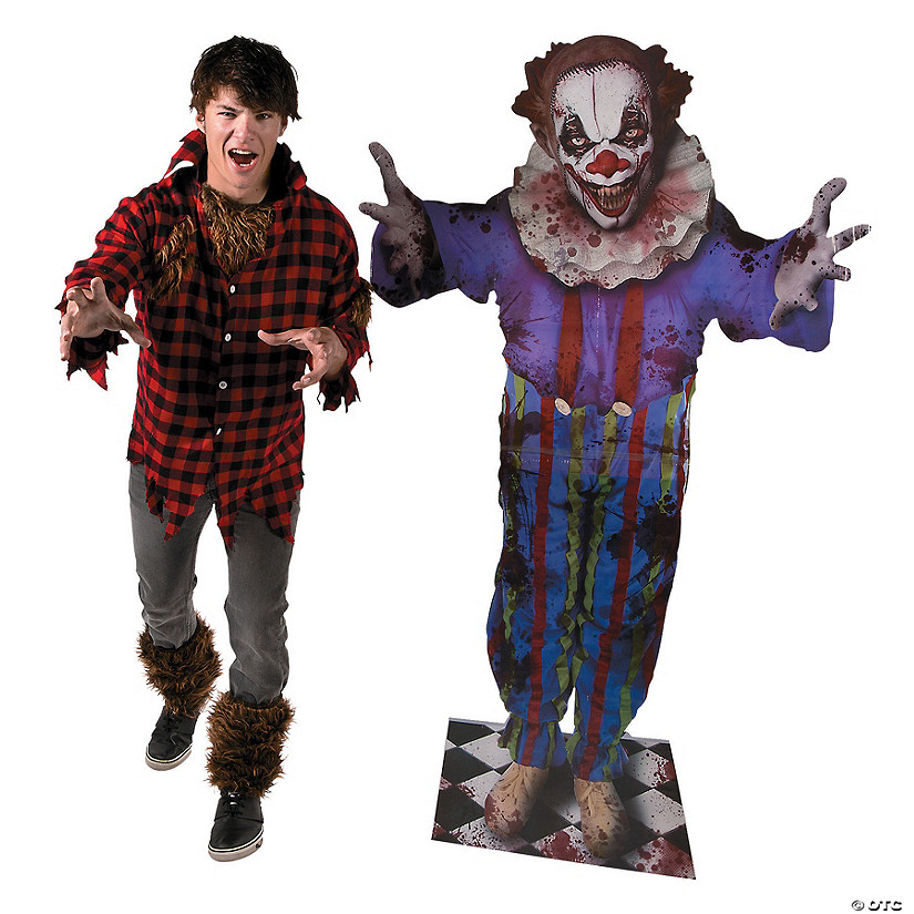 Big Top Terror Scary Clown Halloween Cardboard Stand-Up