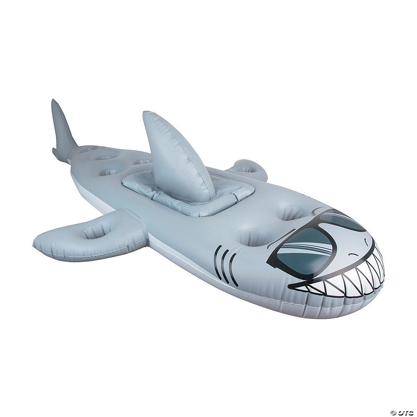 BigMouth<sup>®</sup> Inflatable Shark Cooler Pool Float