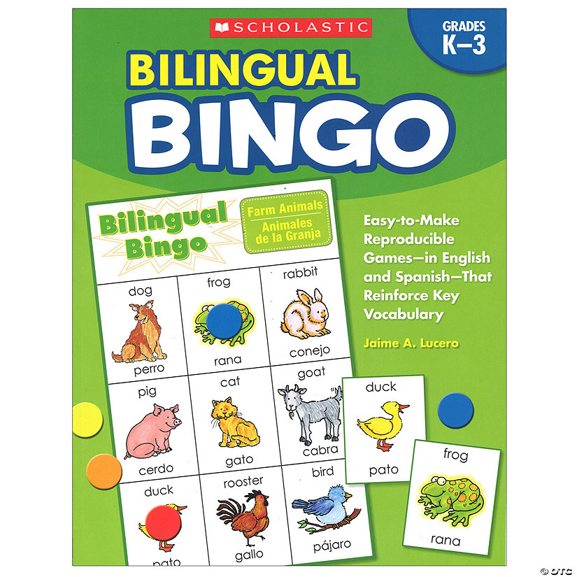 Bilingual Bingo, Activity Book
