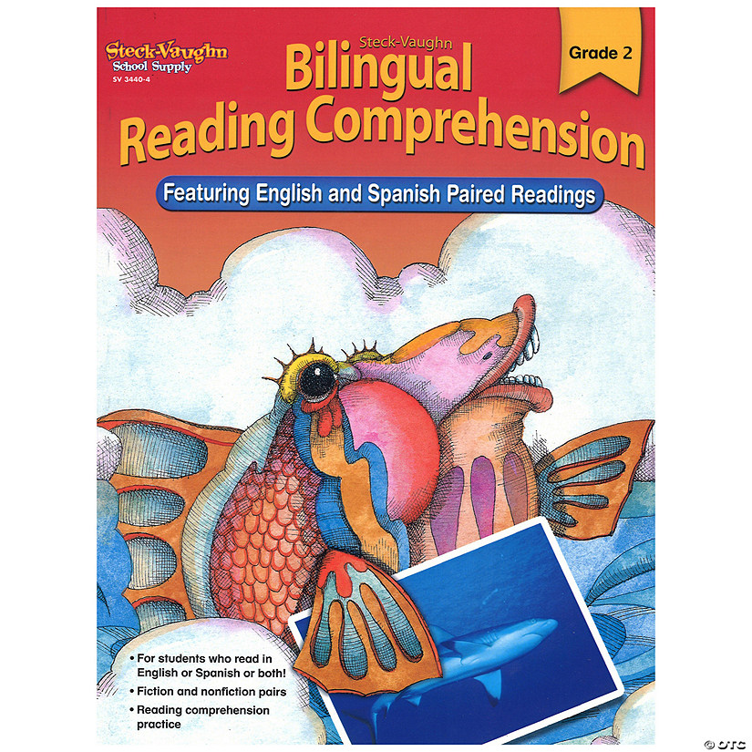 Bilingual Reading Comprehension, Student Edition, Grade 2 Audio Thumbnail