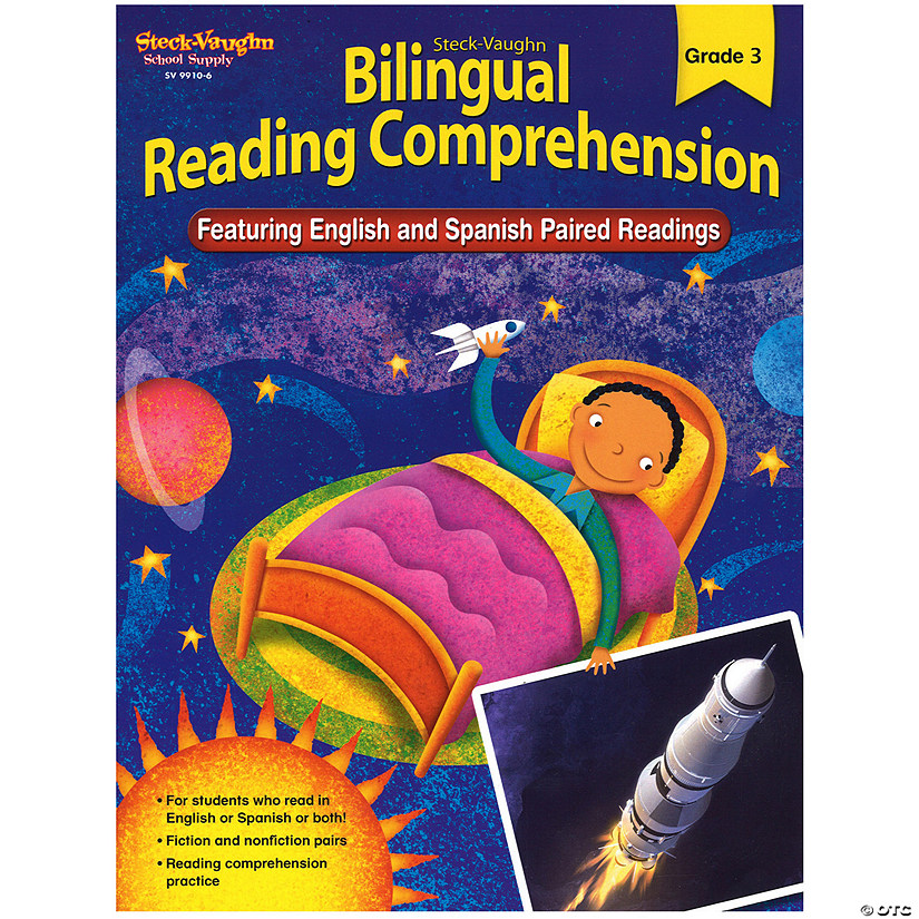 Bilingual Reading Comprehension, Student Edition, Grade 3 Audio Thumbnail