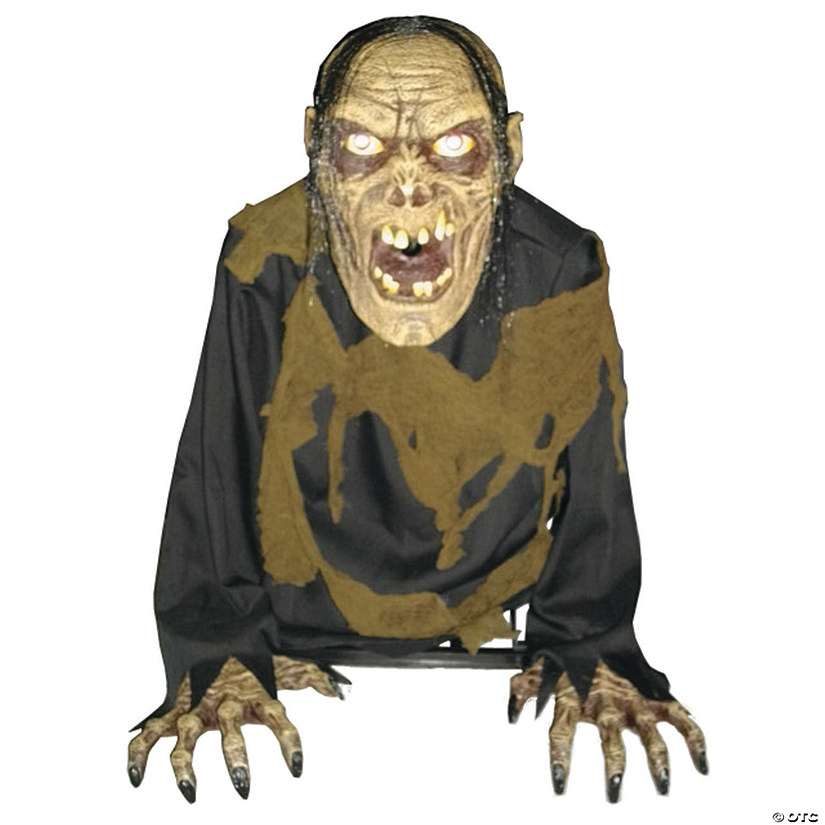 Bilious Zombie Animated Fog Halloween Decoration Image Thumbnail